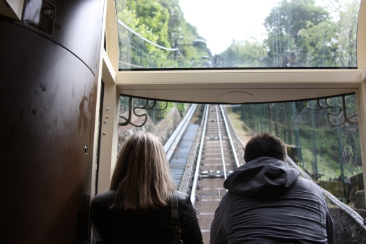 Looking up the funicular